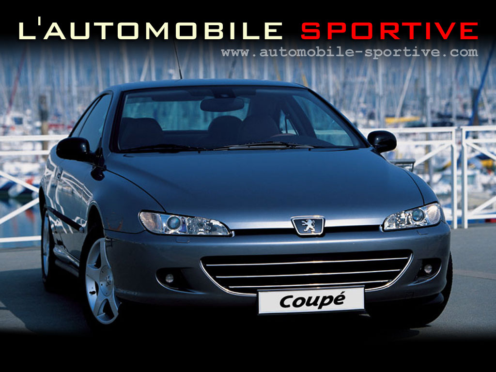 peugeot 406 coupe v6 photo wallpaper fond d ecran. Black Bedroom Furniture Sets. Home Design Ideas