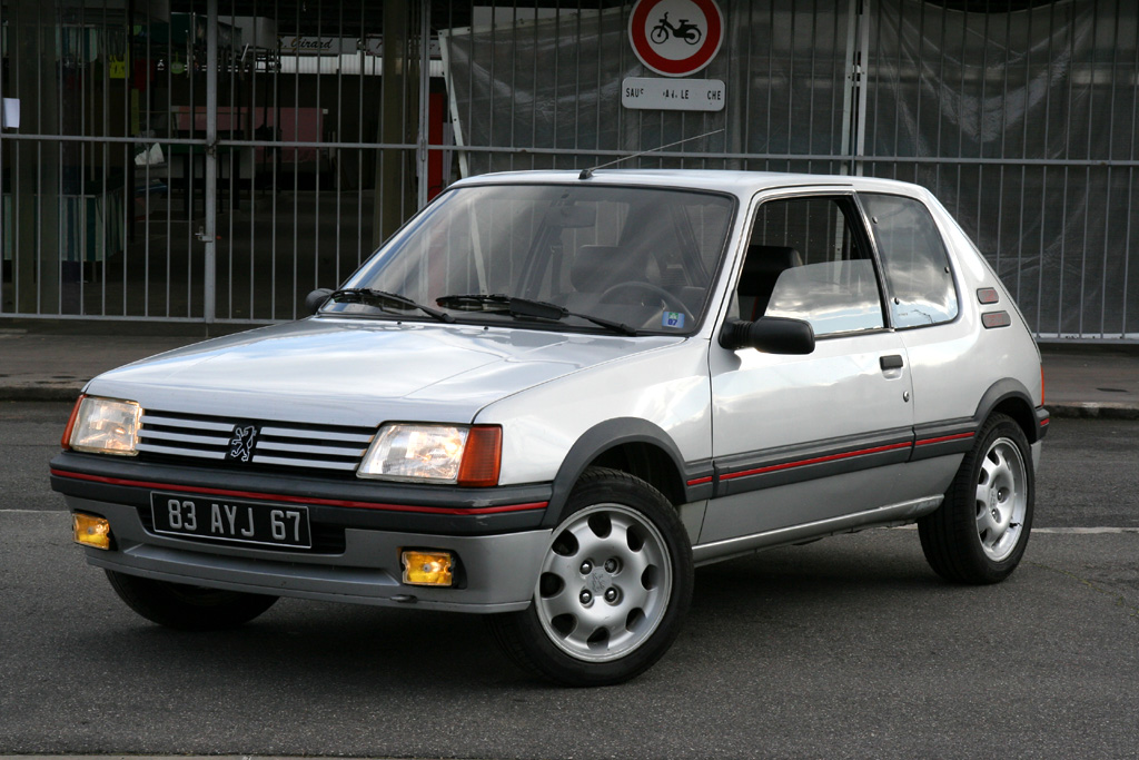 1984 peugeot 205 gti related infomation specifications. Black Bedroom Furniture Sets. Home Design Ideas